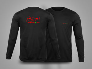 ZX14R.co.uk Bike Outline Long Sleeve T-Shirt