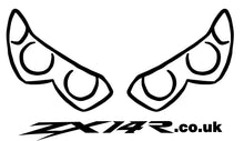 ZX14R.co.uk Gen1/Gen2 Lights Outline Decal