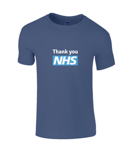 Thank You NHS #socialdistancing SoftStyle® Ringspun T-Shirt