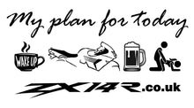 My Plan For Today - ZX14R.co.uk T-Shirt
