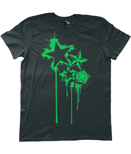 Splat Stars T-Shirt - Infinity Decals