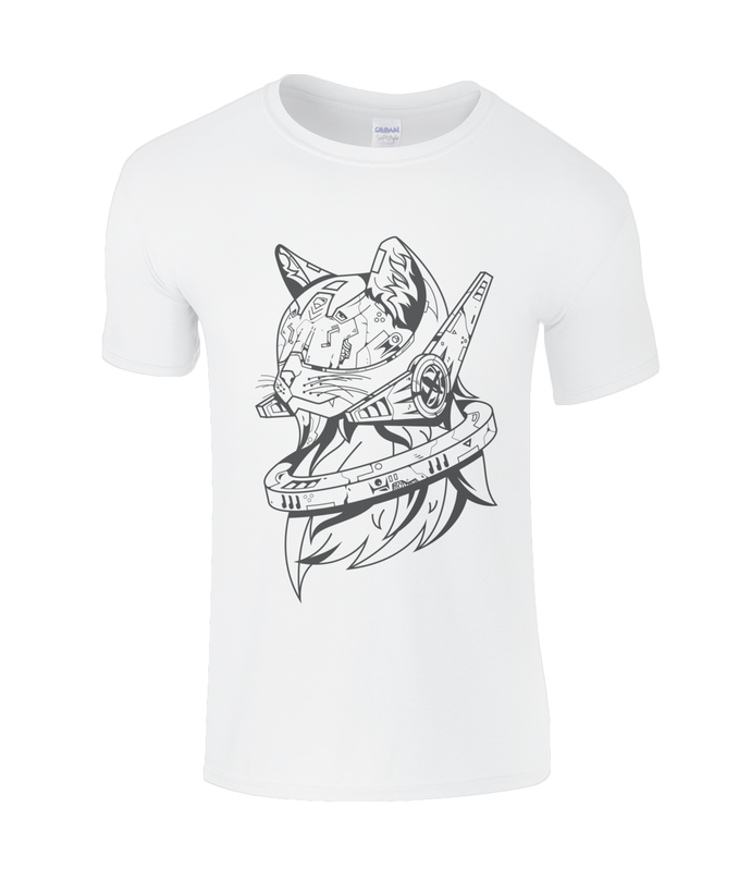 Future Cat Plain SoftStyle® Ringspun T-Shirt