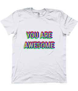 'YOU ARE AWESOME' Men's T-Shirt - Infinity Decals