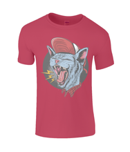 Screaming Punk Cat SoftStyle® Ringspun T-Shirt