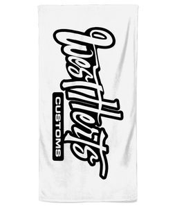West Herts Customs Beach Towel - Infinity Decals