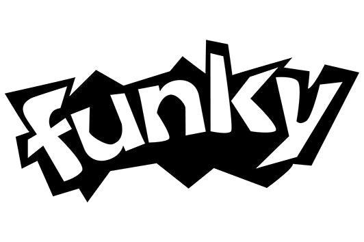 funky Comic Decal