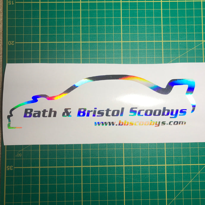 Bath & Bristol Scoobys Decal - Pair - Infinity Decals