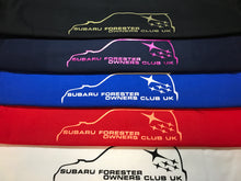 Subaru Forester Owners Club UK Men's T-shirt - Infinity Decals