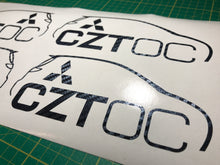 CZT Owners Club Decal - Pair - Infinity Decals