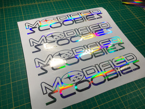 Modified Scoobies Large Decal 450mm - Infinity Decals
