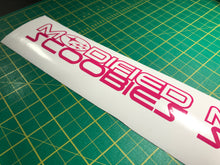 Modified Scoobies Decal - Single - Infinity Decals