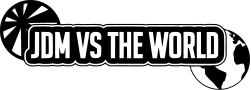 JDM vs the World Decal Sticker - Pair