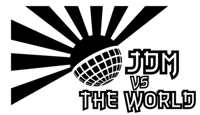 JDM vs the World Large Decal Sticker