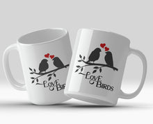 Love Birds 11oz Valentine's Mug