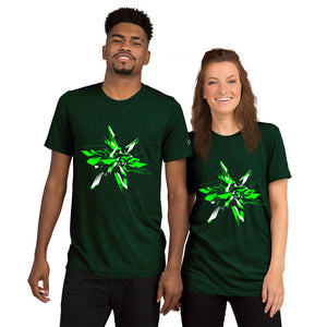 Shrapnel Star Short Sleeve T-shirt - Infinity Decals