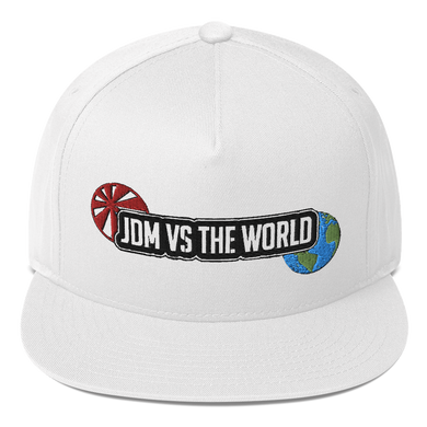 JDM vs the World Flat Bill Cap