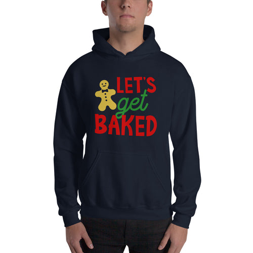 Let's Get Baked Christmas Hooded Sweatshirt - Infinity Decals