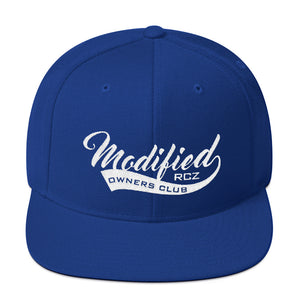 Modified RCZ Snapback Hat - Infinity Decals