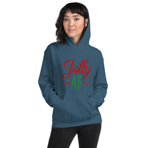 Jolly AF Christmas Unisex Hoodie - Infinity Decals