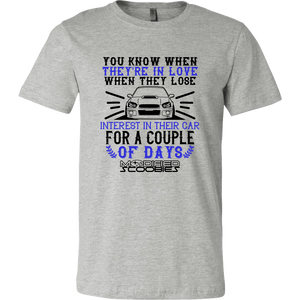 In Love - Impreza Blobeye Modified Scoobies Unisex T-Shirt