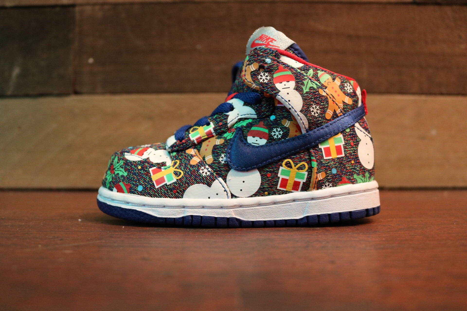 Nike SB Dunk High Ugly Christmas Sweater (TD)*
