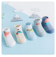 High Quality Premium Cotton Designed Socks - Ocean Set - 0 to 3 yrs