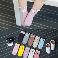 High Quality Premium Cotton Anti Slip Socks - 0 to 5 yrs - Prince/Princess Set