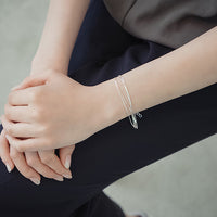 S925 Pure Silver Multilayer Bracelet