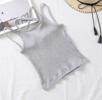 Korea Premium Cotton Girls's Basic - top - 4 colors