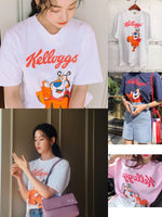 Star Pick - Hwayugi Oh Yeon-seo/Sam Jang/Jin Sun Mi latest Instagram Photo T-shirt - Ulzzang Fashion