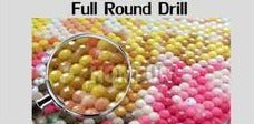 Full Round Missing 5D diamond replacement beads (#3760-3806)