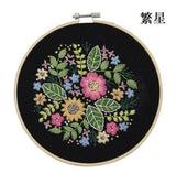 DIY European Embroidery Package Flower Patterns Kits - Local AU stock