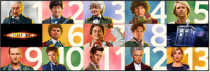 "5D Full Drill Square/round Diamond Embroidery ""Doctor Who - The Doctors collage"""