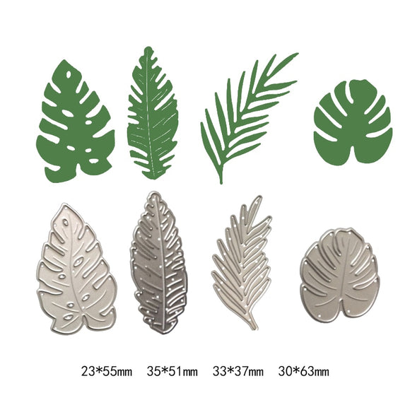 Natural plant Pine leaf cutting metal dies scrapbooking