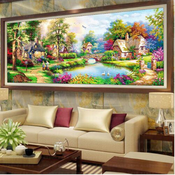 5D DIY Diamond embroidery Painting Kits -Full Square / Round Drill