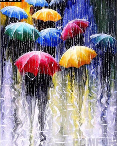 "5D DIY Diamond embroidery Painting Kits -Full Round/square Drill ""Umbrellas"""