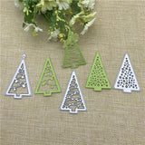 Metal Cutting Dies for DIY Scrapbooking/ Card making Christmas tree Cutouts