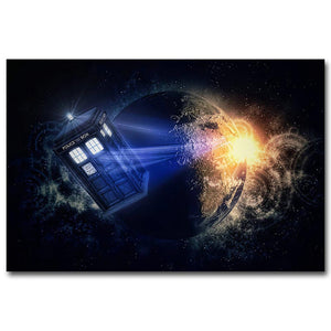 "5D DIY Diamond embroidery Painting Kits -Full Square / Round Drill ""Dr Who"""