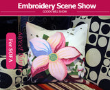 Cross stitch pillowcase kits needlework sets - printed Floral