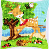 Cross stitch pillowcase kits needlework sets - printed - Animals