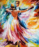 "5D DIY Diamond painting full round/ square drill ""Dancing Couples"""