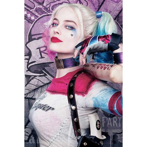 "5D DIY Diamond Art Painting Kits -Full Square / Round Drill  ""Harley Quinn Suicide Squad"""