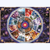 "5D DIY Diamond Painting Kits -Full Square / Round Drill ""Twelve constellation"""
