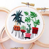 "DIY Embroidery Package Patterns Kits  Beginners kits 3 - ""Plant Series"" 18 options"