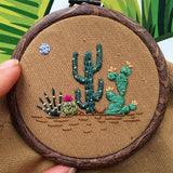 "DIY Embroidery Package Patterns Kits  Beginners kits 9 options - ""Various patterns"""