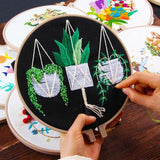 DIY Embroidery Plants & Trees for Beginner
