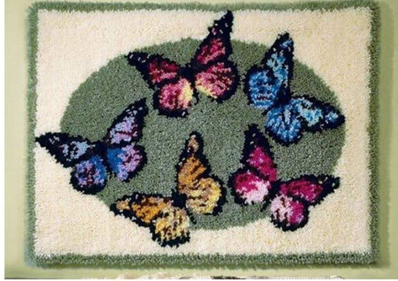 Latch hook DIY rug kit