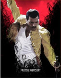 "5D DIY Diamond painting full round/ square drill ""Queen Band Freddie Mercury  -set 2"""