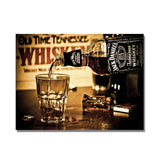 "5D DIY Diamond painting full round drill ""Johnny Walker Whisky and others"""