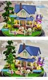 DIY Doll House Miniature With Furniture LED Lights - 21 options